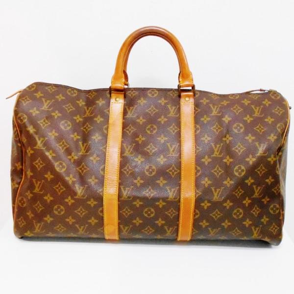 ルイヴィトン Louis Vuitton モノグラム ボストンバッグ 旅行カバン キーポル50 M41426 ★送料無料★【中古】【あす楽】