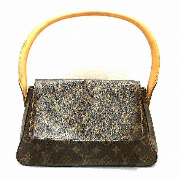 ルイヴィトン Louis Vuitton ミニルーピング ハンドバッグ モノグラム M51147 ★送料無料★【中古】【あす楽】
