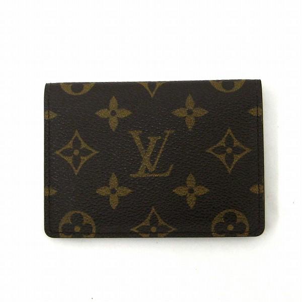 ルイヴィトン Louis Vuitton モノグラム ヴェルティカル M60533 パスケース 定期入れ 小物 ★送料無料★【中古】【あす楽】