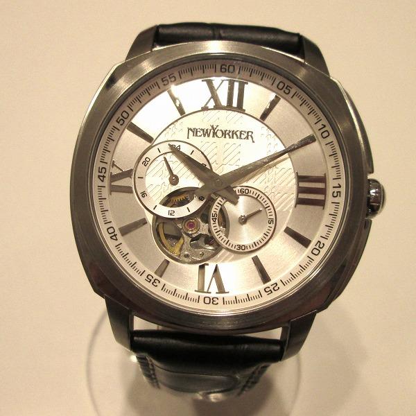 時計 NEWYORKER ニューヨーカー NY003 メンズ 自動巻き ★送料無料★【中古】【あす楽】