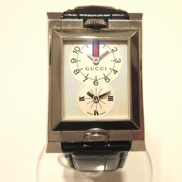 時計 グッチ GUCCI 111 デュアルタイム メンズ クオ-ツ ★送料無料★【中古】【あす楽】