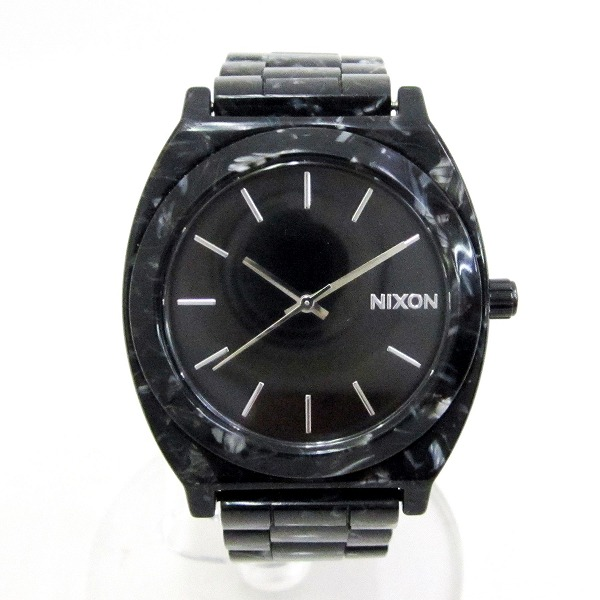 時計 ニクソン A3272185 時計 腕時計 メンズ クオーツ 黒文字盤 ★送料無料★【中古】【あす楽】
