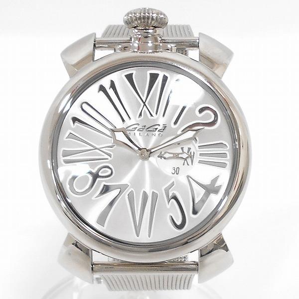時計 ガガミラノ マヌアーレ 46 スリム 5080時計 腕時計 ユニセックス ★送料無料★【中古】【あす楽】