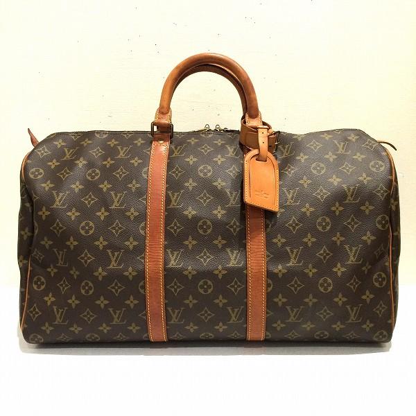 ルイヴィトン Louis Vuitton キーポル 50 モノグラム ボストンバッグ M41426 ★送料無料★【中古】【あす楽】