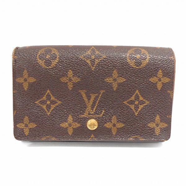ルイヴィトン Louis Vuitton ポルトフォイユトレゾール M61736 財布 2つ折り ユニセックス ★送料無料★【中古】【あす楽】