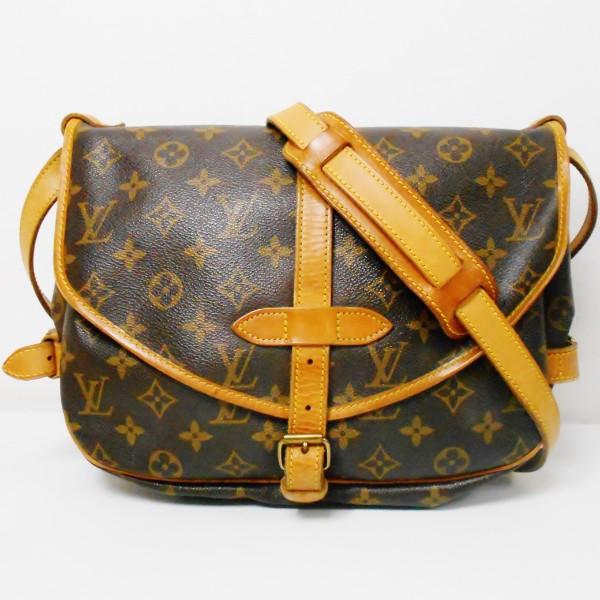 ルイヴィトン Louis Vuitton ソミュール M42256 バッグ ショルダーバッグ レディース ★送料無料★【中古】【あす楽】