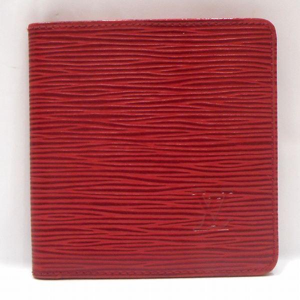 ルイヴィトン Louis Vuitton エピ ポルト ビエ 6カルト クレディ レッド M63317財布 2つ折り ユニセックス ★送料無料★【中古】【あす楽】