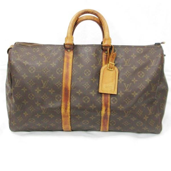 ルイヴィトン Louis Vuitton モノグラム 旧型 キーポル45 M41428 バッグ ボストンバッグ ★送料無料★【中古】【あす楽】