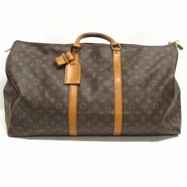 ルイヴィトン Louis Vuitton キーポル55 M41424 旅行バッグ ★送料無料★【中古】【あす楽】