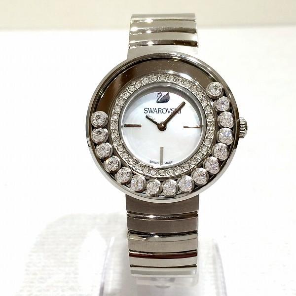 時計 SWAROVSKI スワロフスキー クォーツ レディース時計 ★送料無料★【中古】【あす楽】