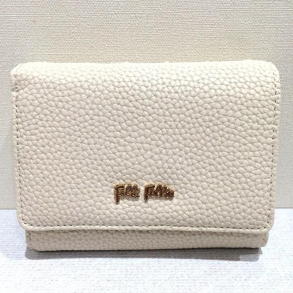 フォリフォリ 二つ折り財布 箱付 未使用 ★送料無料★【中古】【あす楽】