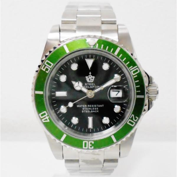 時計 スチール STEEL BAGELSPORT 自動巻き 時計 腕時計 メンズ ★送料無料★【中古】【あす楽】