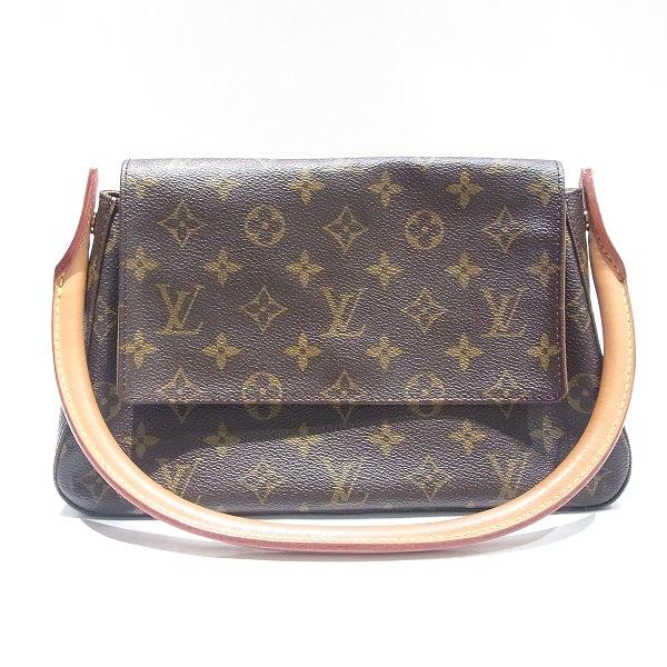 ルイヴィトン Louis Vuitton モノグラム ミニルーピング M51147 バッグ ★送料無料★【中古】【あす楽】