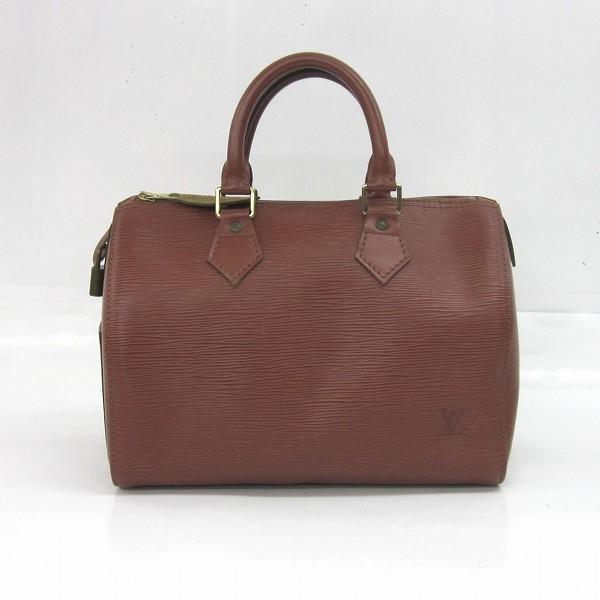 ルイヴィトン Louis Vuitton エピ スピーディ25 M43013 ケニアブラウン バッグ ★送料無料★【中古】【あす楽】