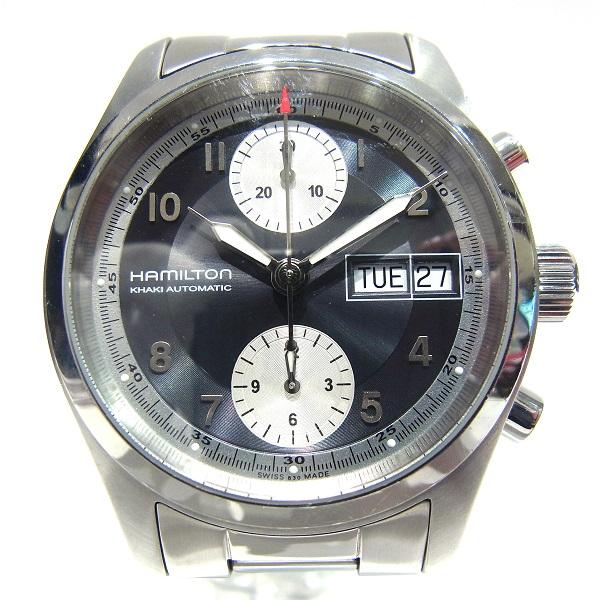 時計 HAMILTON ハミルトン カーキ フィールド クロノグラフ H714660 メンズ オートマチック ★送料無料★【中古】【あす楽】