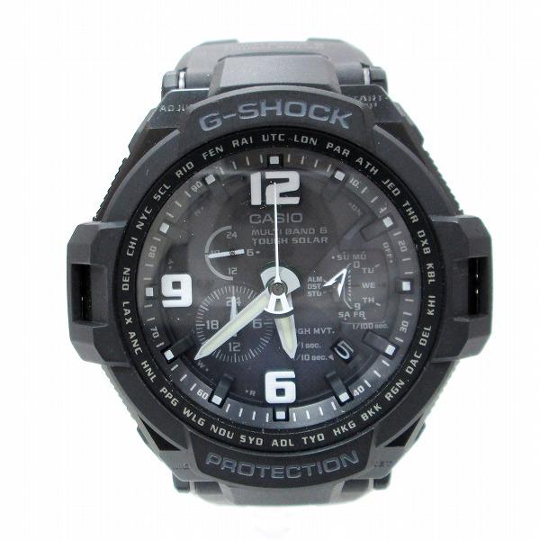 時計 カシオ G-SHOCK スカイコクピット GW-4000A ソーラー 黒 ★送料無料★【中古】【あす楽】