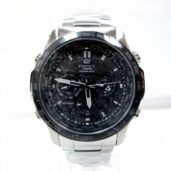 時計 カシオ エディフィス EQW-T1010 メンズ 電波ソーラー ★送料無料★【中古】【あす楽】