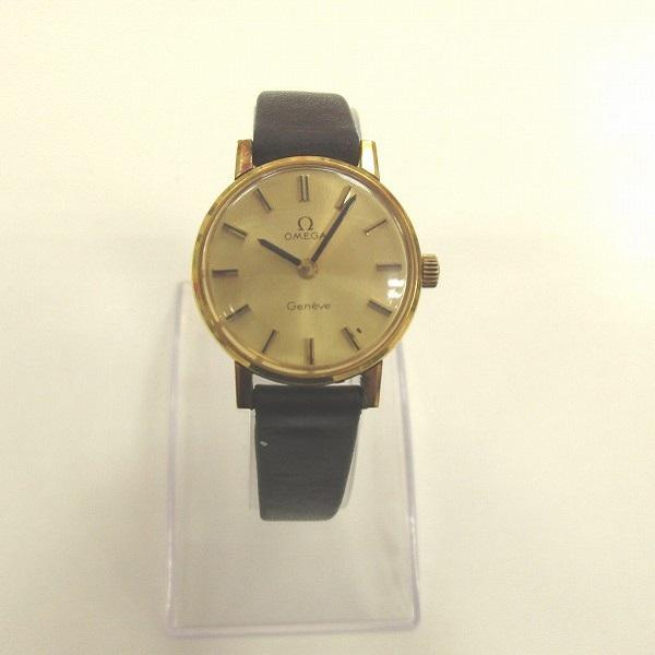 時計 オメガ ジュネーブ 手巻き 時計 腕時計 レディース ★送料無料★【中古】【あす楽】