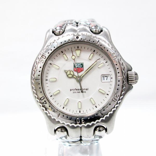 時計 タグホイヤー プロフェッショナル 200M WG1212-K0 ボーイズ クオーツ 白文字盤 時計 腕時計 ★送料無料★【中古】【あす楽】