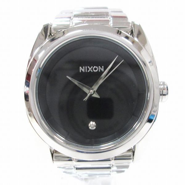 時計 ニクソン LIKE A BOSS メンズ クオーツ 黒文字盤 時計 腕時計 ★送料無料★【中古】【あす楽】