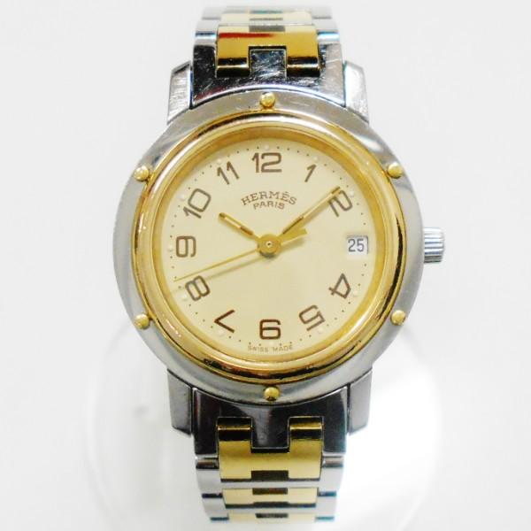 時計 エルメス Hermes クリッパー CL3.240 クォーツ 時計 腕時計 レディース ★送料無料★【中古】【あす楽】