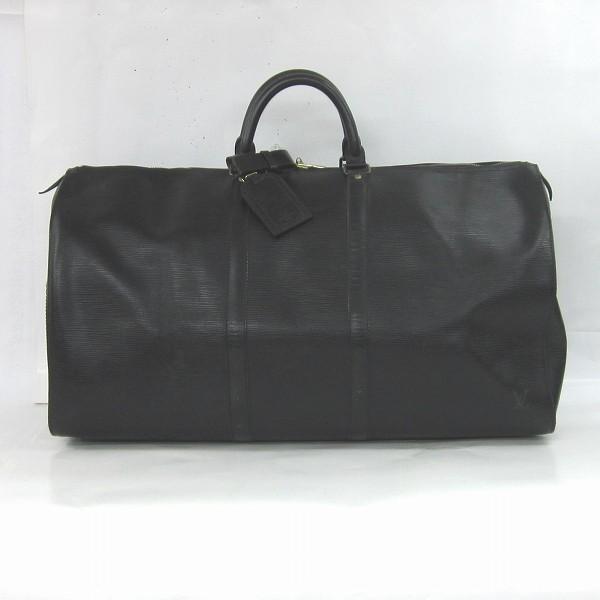 ルイヴィトン Louis Vuitton エピ キーポル55 M42952 ノワール バッグ ★送料無料★【中古】【あす楽】