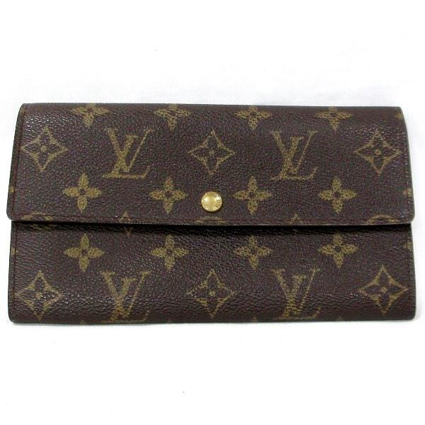 ルイヴィトン Louis Vuitton モノグラム M61725 二つ折り財布 ユニセックス ★送料無料★【中古】【あす楽】