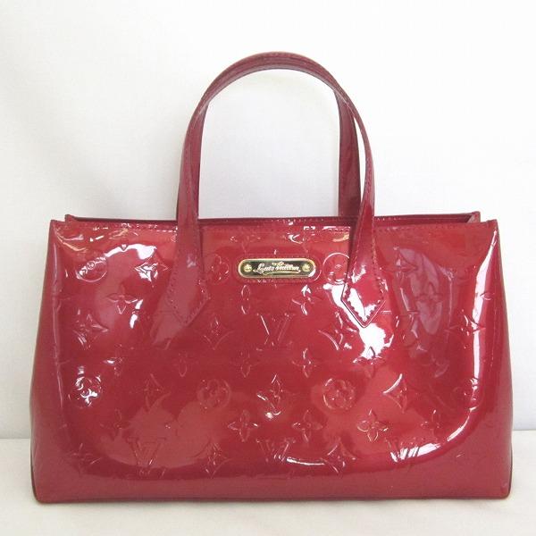 ルイヴィトン Louis Vuitton ヴェルニ ウィルシャーPM M93642 赤 バッグ ハンドバッグ ★送料無料★【中古】【あす楽】