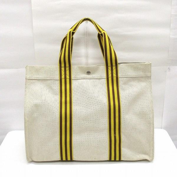 エルメス Hermes ボラボラGM キャンバス バッグ トートバッグ レディース ★送料無料★【中古】【あす楽】
