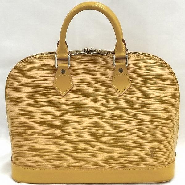 ルイヴィトン Louis Vuitton エピ アルマ M52149 タッシリ イエロー バッグ ハンドバッグ ユニセックス ★送料無料★【中古】【あす楽】