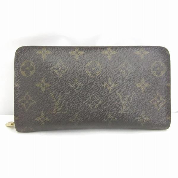 ルイヴィトン Louis Vuitton モノグラム ポルトモネジップ M61727 財布 ★送料無料★【中古】【あす楽】