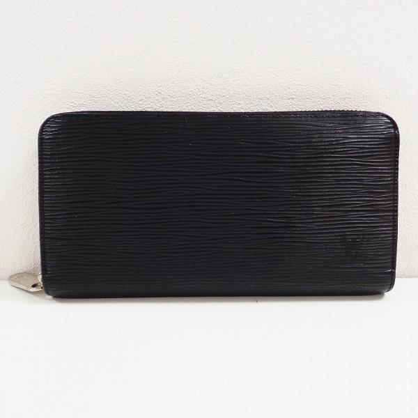 ルイヴィトン Louis Vuitton エピ ノワール ラウンドファスナー ブラック M60072 長財布 ユニセックス ★送料無料★【中古】【あす楽】