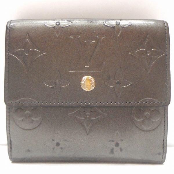 ルイヴィトン Louis Vuitton モノグラムマット ポルトモネビエカルトクレディ M65112 Wホック 財布 2つ折り ★送料無料★【中古】【あす楽】