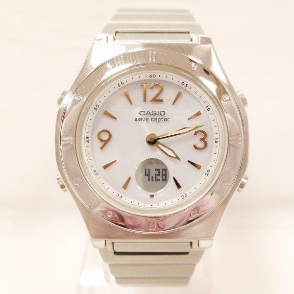 カシオ ウェーブセプター LWA-M141 レディース 電波ソーラー 時計 腕時計 ★送料無料★【中古】【あす楽】
