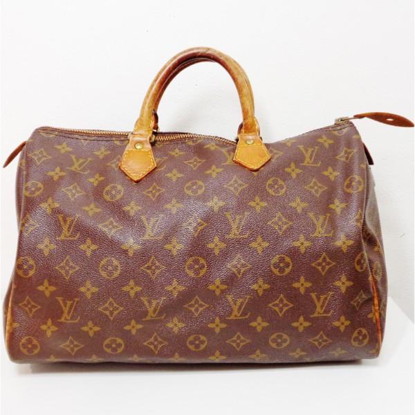 ルイヴィトン Louis Vuitton モノグラム スピーディ35 M41524 バッグ ハンドバッグ ユニセックス ★送料無料★【中古】【あす楽】