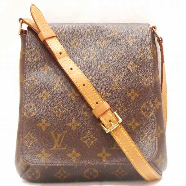ルイヴィトン Louis Vuitton モノグラム ミュゼットサルサ M51258 ショート バッグ ショルダーバッグ ★送料無料★【中古】【あす楽】