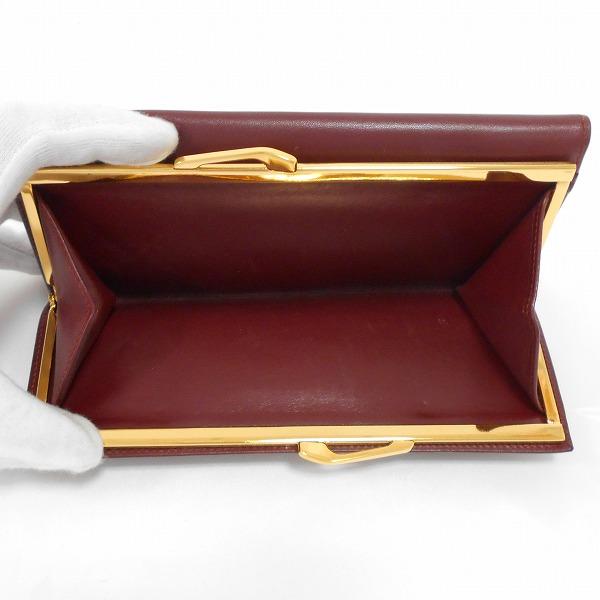 new style a23e3 40e2d 安いそれに目立つ カルティエ Cartier マストライン がま口 3 ...