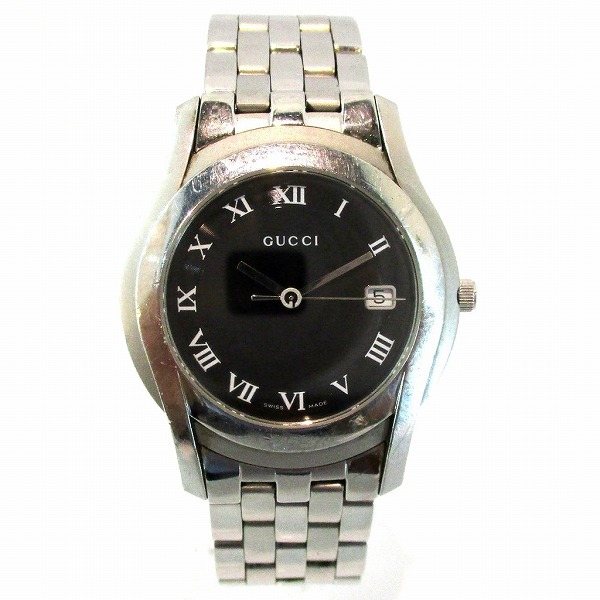 6e4a217857d  brand  Gucci  brand name  Men s watch  model number  5500M  serial number   11616714  movement  quartz  materials  Stainless steel