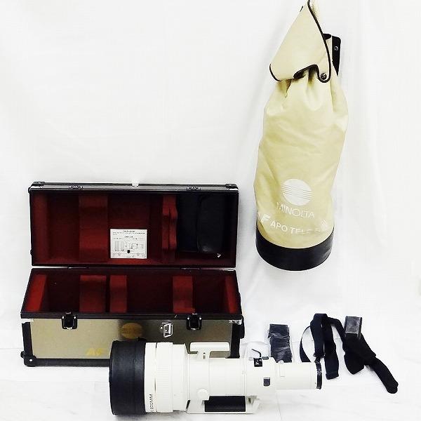 ミノルタ MINOLTA High Speed AF APO TELE 600mm カメラ ショルダー ケース 付き 小物 ★送料無料★【中古】【あす楽】