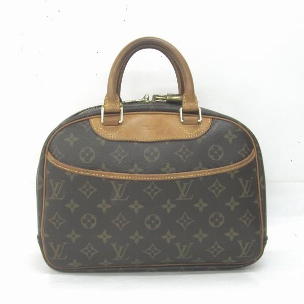 ルイヴィトン Louis Vuitton トゥルーヴィルPM モノグラム M42228 ハンドバッグ ★送料無料★【中古】【あす楽】