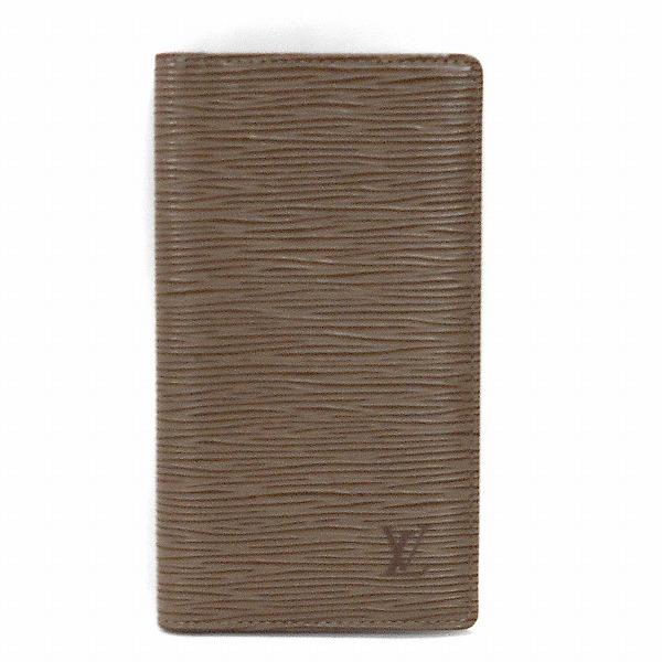 ルイヴィトン Louis Vuitton エピ 二つ折り札入れ 財布 長財布 メンズ ★送料無料★【中古】【あす楽】