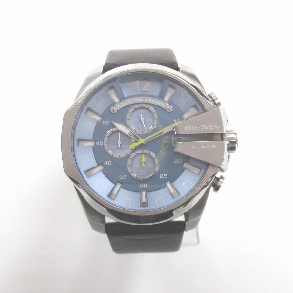 ディーゼル メガチーフ クロノグラフ クォーツ DZ-4281 時計 腕時計 メンズ ★送料無料★【中古】【あす楽】