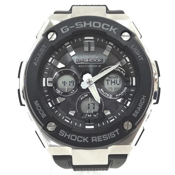 カシオ Gショック GST-W300 マルチバンド6 タフソーラー時計 腕時計 メンズ ★送料無料★【中古】【あす楽】