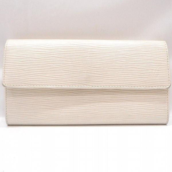 ルイヴィトン Louis Vuitton エピ ポルトフォイユ サラ ホワイト M6516J 財布 長財布 ユニセックス ★送料無料★【中古】【あす楽】