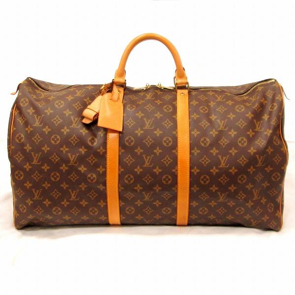 ルイヴィトン Louis Vuitton モノグラム キーポル55 M41424 バッグ ボストンバッグ ★送料無料★【中古】【あす楽】