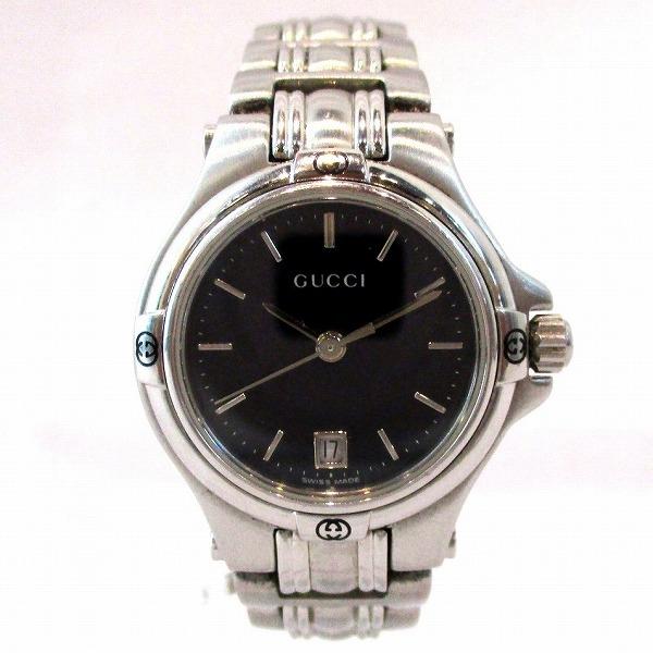 グッチ GUCCI 9040L ステンレス 時計 腕時計 レディース ★送料無料★【中古】【あす楽】