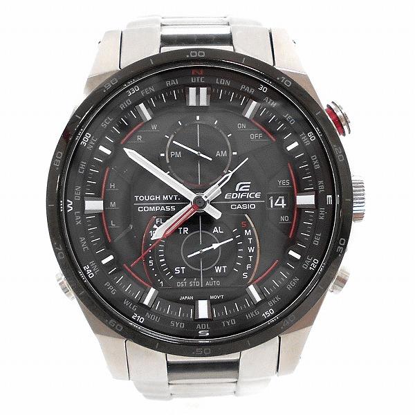 カシオ エディフィス ソーラー電波 EQW-A1200DB-1AJF 時計腕時計 メンズ ★送料無料★【中古】【あす楽】