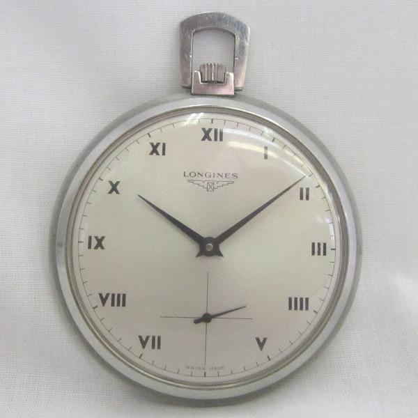 ロンジン 手巻き アンティーク 時計 懐中時計 ★送料無料★【中古】【あす楽】