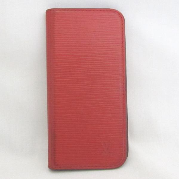 ルイヴィトン Louis Vuitton エピ iPhone6ケース M56257 小物 赤 ★送料無料★【中古】【あす楽】