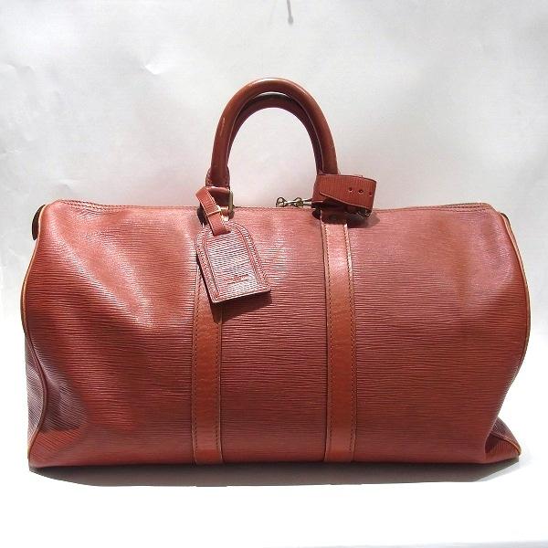 ルイヴィトン Louis Vuitton エピ キーポル45 M42973 旅行バッグ ボストンバッグ ユニセックス ★送料無料★【中古】【あす楽】